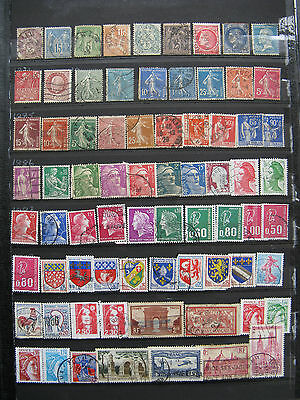 A nice collection of Early French Stamps. 73 stamps.