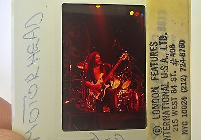 MOTORHEAD  35mm Slide Negative - Original UK & US Archive  - Rare PROMO Vintage!