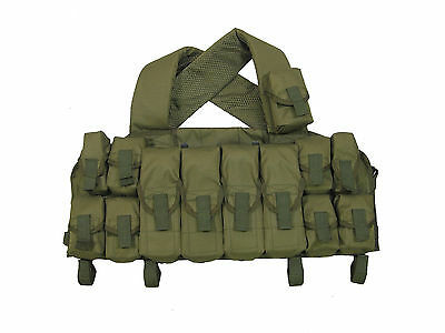 Original Russian Sposn (Sso) Military Lazutchik-M Assault Vest Olive, New!