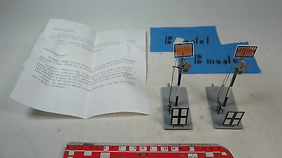 ax899-0, 5 #2X B Model (ETS) O Gauge blech-signal for Manual Operation, Tested