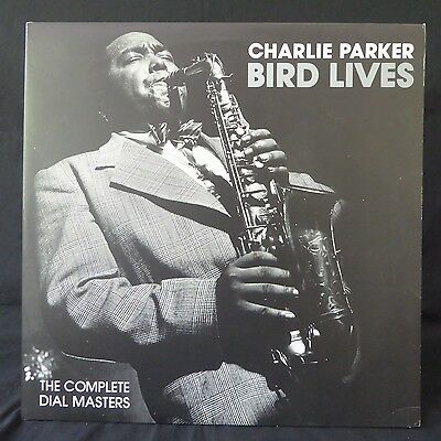 CHARLIE PARKER Bird Lives Complete Dial Masters DIAL NME UK Press JAZZ 2LP NM