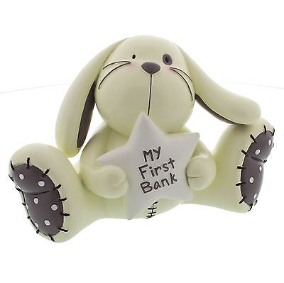 Juliana Baby Collection Cute Rabbit 'My First Bank' Baby Gift Money Box