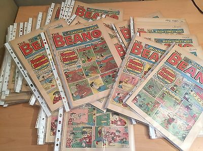 BEANO COMIC 1987 Various Dates - Very Good Cond in Plastic Sleeve 30th Birthday