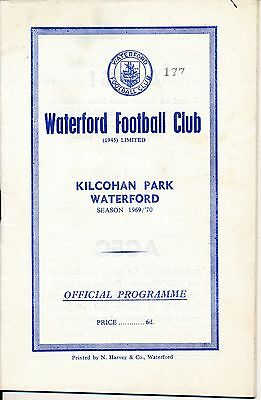 Waterford v Cork Celtic (League of Ireland 16.11) 1969