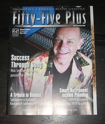 canadian Fifty-Five Plus magazine RICK SMITHER May 2015 Five Man Electrical Band