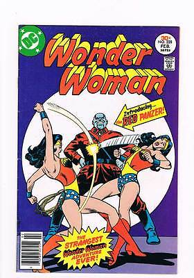 Wonder Woman # 228 Retreat to Tomorrow ! grade 6.5 scarce book !!