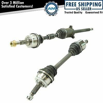 Front CV Axle Shaft Assembly Pair LH RH Set 2pc for Maxima Altima AT New