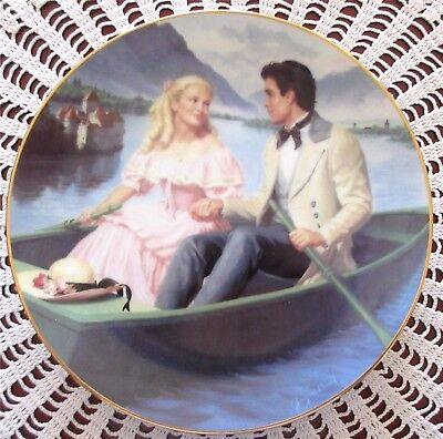 Laurie's Proposal Little Women Plate From Danbury Mint By Elaine Gignilliat