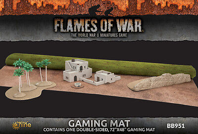 Flames of War BNIB Battlefield in a Box Gaming Mat (48' x 72') BB951