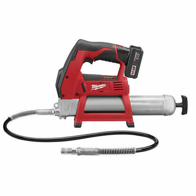 New Milwaukee 2446-21Xc M12 12 Volt Cordless Grease Gun With Case Sale