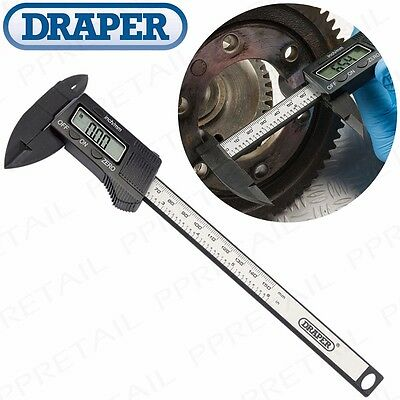 "PRO DIGITAL SLIDING CALIPERS 0-150mm/6"" Range Electronic Micrometer LCD Gauge"