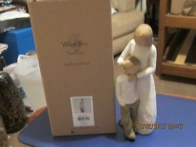 Brand New Willow Tree Figure Mother And Son