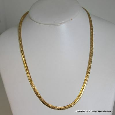 Collier Or 18k, 750/000 Maille Anglaise 8.4 Grs - Bijoux occasion