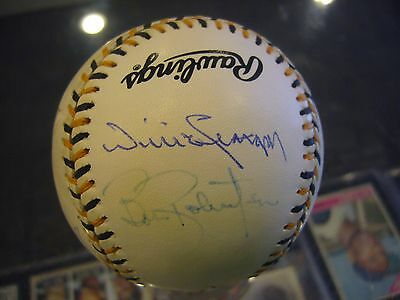 1994 Pittsburgh Pirates All Star Baseball Signed  Willie Stargell Dock Ellis +7