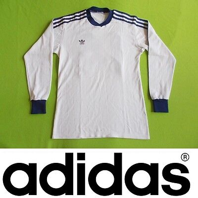 VINTAGE Shirt ADIDAS (M) Made in WEST GERMANY #14 VERY GOOD !!! Trikot