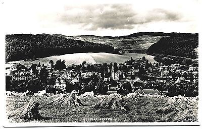 Early Real Photo Postcard . Overlooking Strathpeffer . Scotland