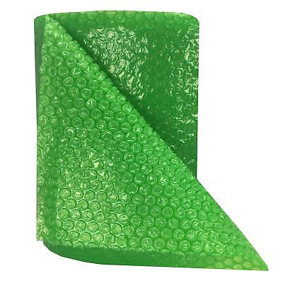 """30-Feet Roll of Green Bubble Small 3/16"""" Wrap x 12"""" Wide"""