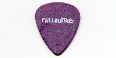 FALL OUT BOY 2005 Cork Tree Tour Guitar Pick!!! PETE WENTZ custom concert stage