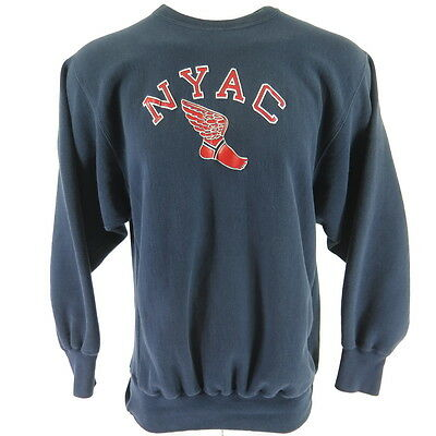 Vintage 90s NYAC P-Wing Champion Sweatshirt Mens 2XL Reverse Weave USA Made