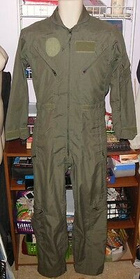 Mens Air Force Flight Suit Coveralls Military Coveralls Green Great Buy
