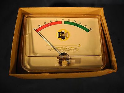 TESTMASTER EM TUBE TESTER METER (NEW IN BOX) Free Shipping!