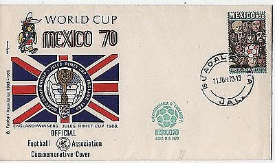 "Football World Cup ""MEXICO 70"" Official Commemorative Cover"