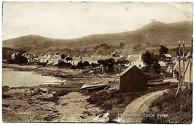 Early Postcard . Newton . Loch Fyne . Scotland
