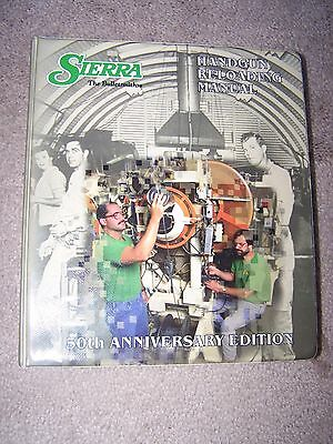 Sierra . Rifle Reloading Manual 50Th Anniversary Edition. Used.