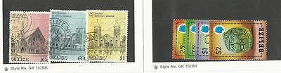 Belize, Postage Stamp, #741-44 Mint NH, 927, 929, 931 Used, 1984-89