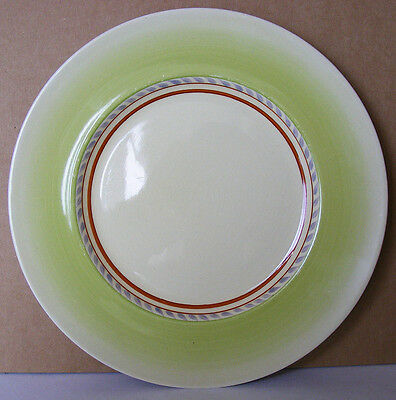 CLARICE CLIFF - Simple & Elegant Design -  Art Deco 1930s Plate - Wilkinson Ltd