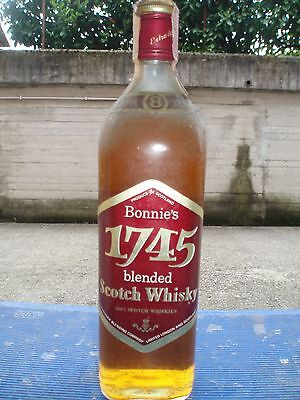 BONNIE'S 1745 (8years)- Blended Scotch  Whisky   75 cl e 40°