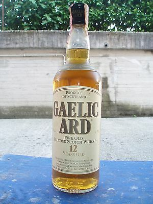 GAELIC ARD (12 years)- Blended Scotch  Whisky   75 cl e 43°