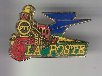 Rare Pins Pin's .. Ptt La Poste Train Rail Railway Sncf Locomotive Transport ~C5