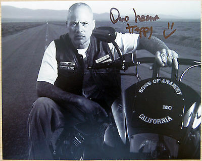 Autogramm 20x25cm DAVID LABRAVA (Sons of Anarchy) *handsigniert* COA