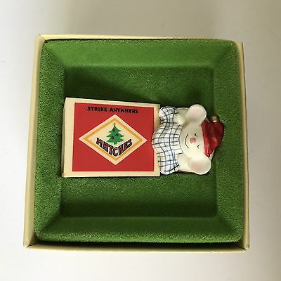 A Matchless Christmas Hallmark Ornament 1979 Little Trimmers Mouse Clip On