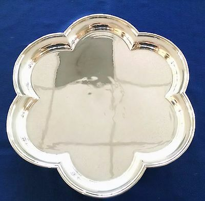 Tiffany & Co Makers Sterling Silver Flower Tray Rare Vintage Solid 905.1 grams!!