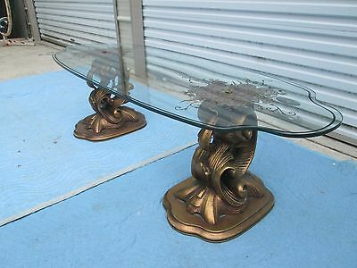 VINTAGE 60`s MID CENTURY~HOLLYWOOD REGENCY~KTCHY STYLE COFFEE / COCKTAIL TABLE