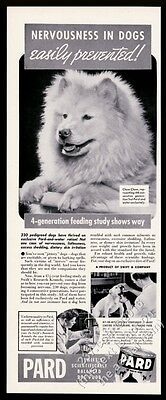 1939 Chow Chow photo Pard dog food vintage print ad