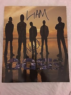 Oasis Signed Tour Programme Liam And Noel