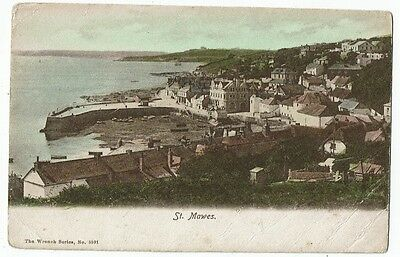 Cornish Post Card Early Printed St. Mawes