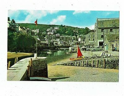 Cornish Post Card Of The Harbour Looe