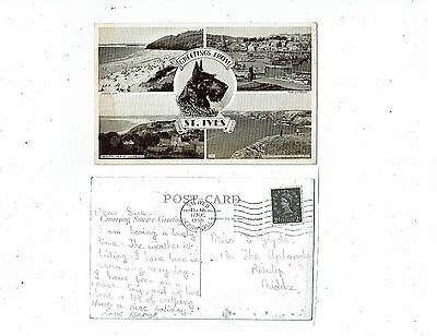 Cornish Post Cards Real Photo Greetings From St.ives