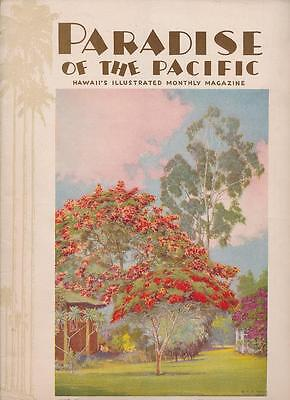 June 1931 Hawaii Magazine Paradise Of The Pacific H. B. Christian Cover
