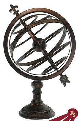 "25"" ARMILLARY SPHERE - Cosmic Globe - ANTIQUE FINISH"