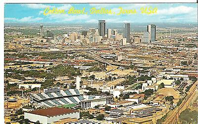 PC40)  Postcard - Cotton Bowl - Dallas, Texas - 1981 used