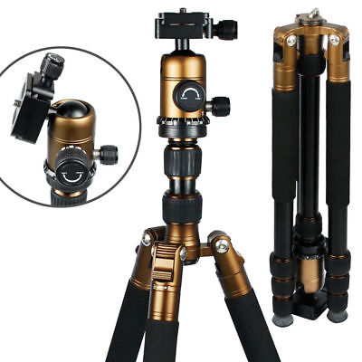 Heavy Duty Professional Tripod Monopod Ball Head Photo Stand For DSLR Camera