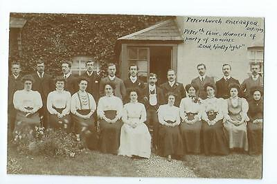 Herefordshire RP by Palin of the winning Peterchurch Eisteddfod Choir 1909