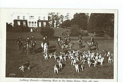 Herefordshire RP by Tilley & Sonl  (No5076) Ledbury Hounds at Down house 1910