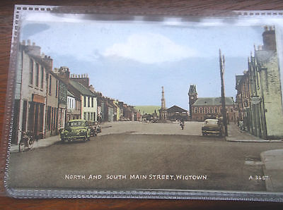 Wigtown-North And South Main Street-Unused Postcard