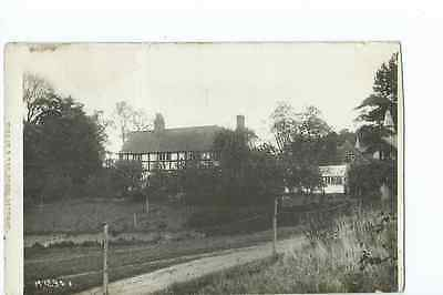 Herefordshire RP by Tilley & Son, of a house at Stretton Grandison @1915